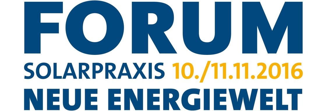 17th Forum Solarpraxis | Berlin