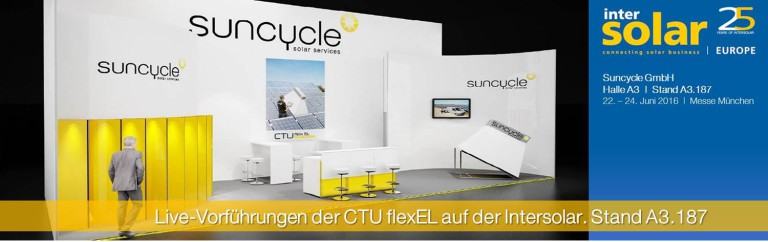 Intersolar Europe - 22.-24. Juni 2016 - Stand A3.187
